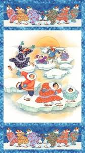 Arctic Snow by Barbara Lavallee Panel 21216-44 £8.50 Now £6.00