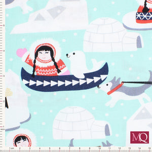 Arctic Girl by Elizabeth's Studio  -E3410- £1.40/10cm - NOW £7.00