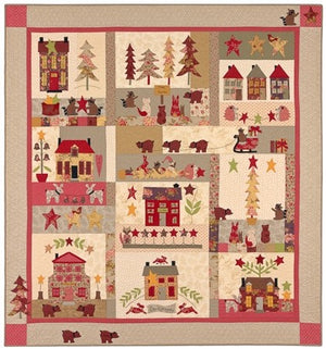 A Woodland Christmas by Bunny Hill designs - Pattern only