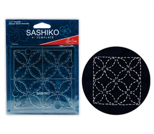 "Sashiko 4"" Template by Sew Easy Shippou ( Seven Treasures)  ERS.004  £4.50"