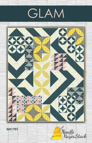 Glam  Quilt Pattern  # NH1701