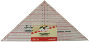 "Sew Easy 7.5"" x 15""  90 degree Triangle Ruler - NL4172"