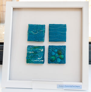 Paula Simpson -Texture in Textiles ­ Inspired by the Coast -Saturday September 29th 10am to 4pm. Beginners Sewing Machine required