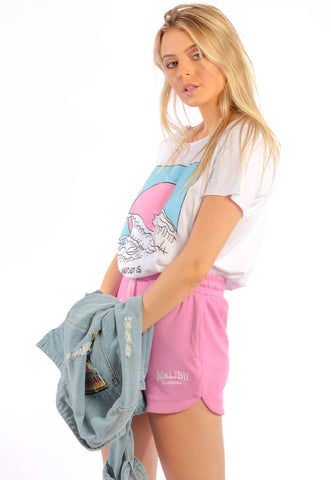 CAMISETA FEMININA BASICA - SPRAY LOVE DTG