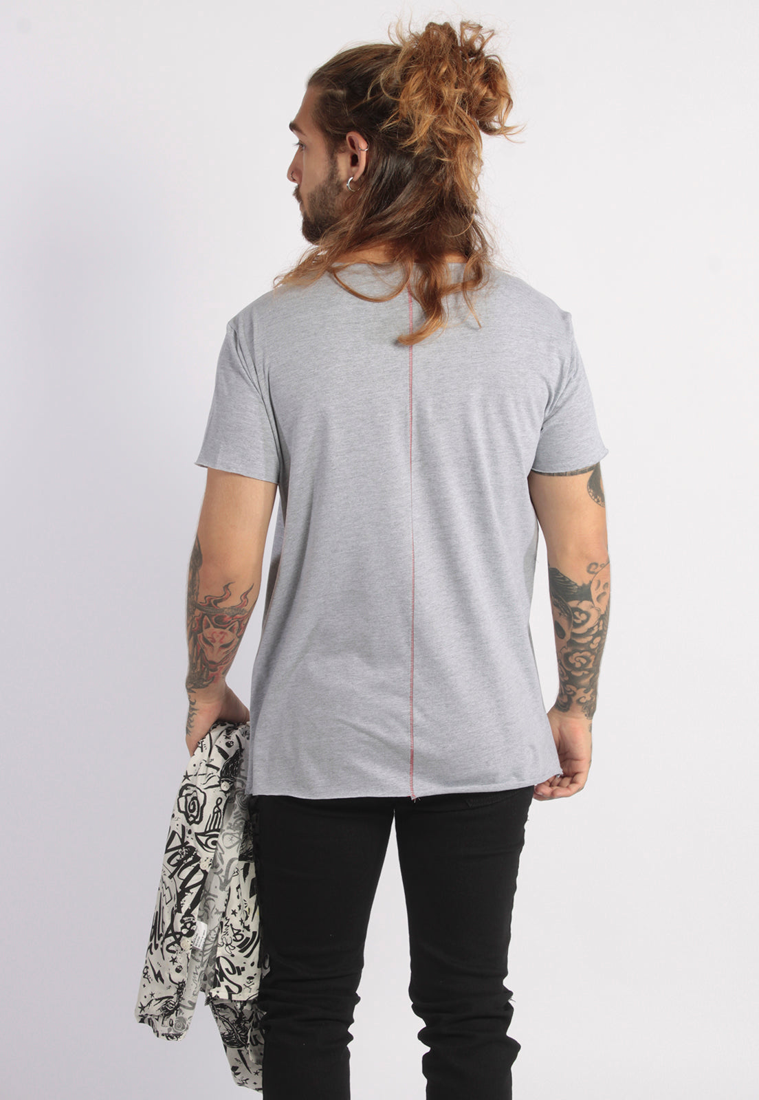 CAMISETA MASCULINA CORTE A FIO - JUICY SWEET TASTY DTG