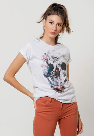 CAMISETA FEMININA BÁSICA ESTAMPADA JOSS - BELIEVE YOURSELF 02