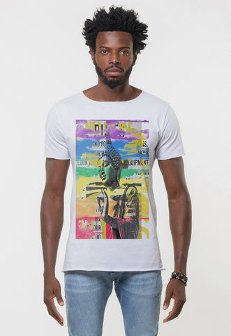 CAMISETA MASCULINA CORTE A FIO - MYSTIC PLACE DTG
