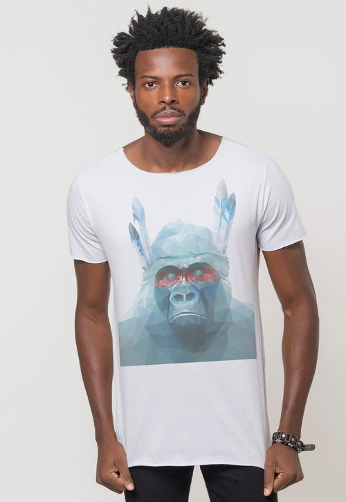 CAMISETA MASCULINA CORTE A FIO - INDIAN MONKEY DTG