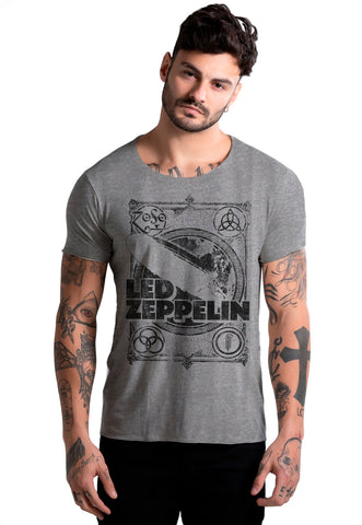 CAMISETA MASCULINA ESTAMPADA JOSS - ROCK IN