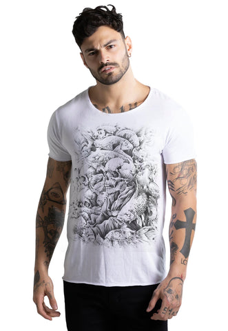 CAMISETA MASCULINA CORTE A FIO JOSS - GOOD TIME