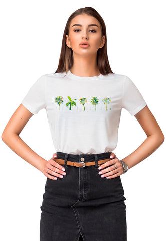CAMISETA FEMININA BÁSICA ESTAMPADA JOSS -IMAGINE