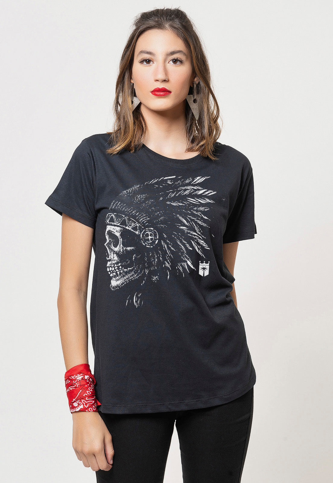 CAMISETA FEMININA BASICA - NATIVE