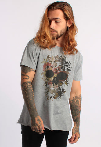 CAMISETA MASCULINA CORTE A FIO - ALIEN IS HERE