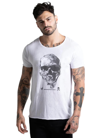 CAMISETA JOSS MASCULINA CORTE À FIO JOSS - HARD AS ROCK