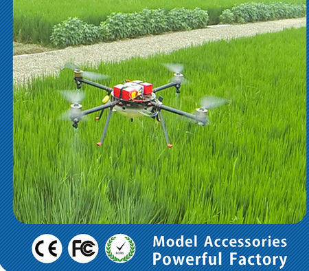 8 Axis 10KG 10L Agricultural Spraying unmanned RC drone