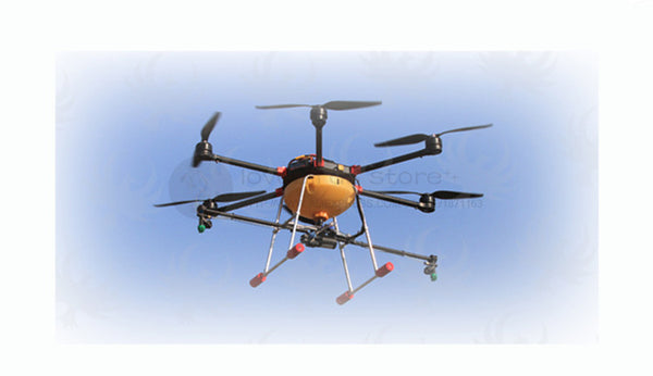 DIY Agriculture spray multirotor drone hexacopter empty pure carbon fiber  frame JV1000 with 5KG spray gimbal system