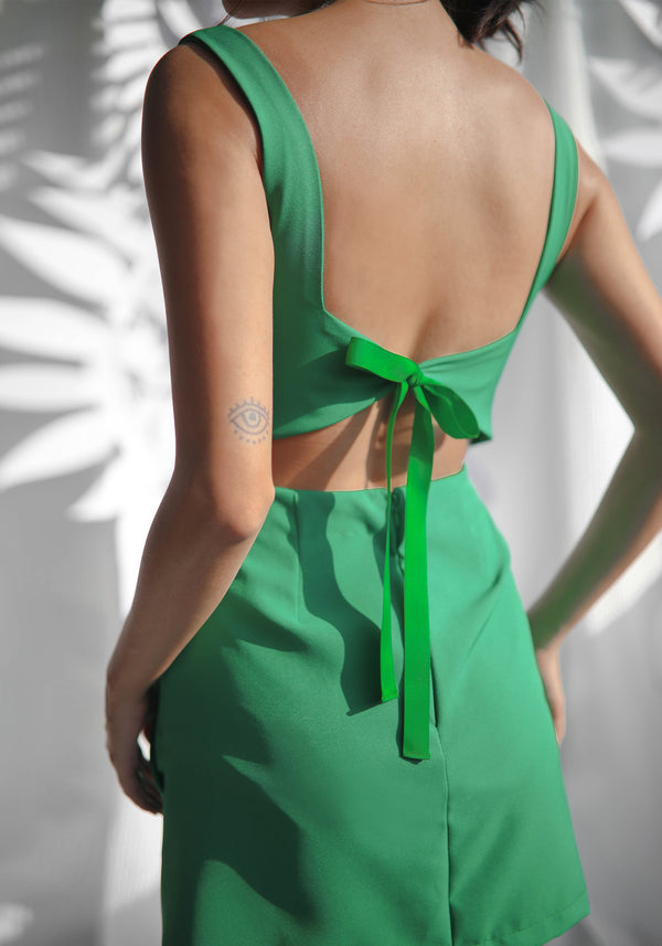 Origami Ribbon Dress