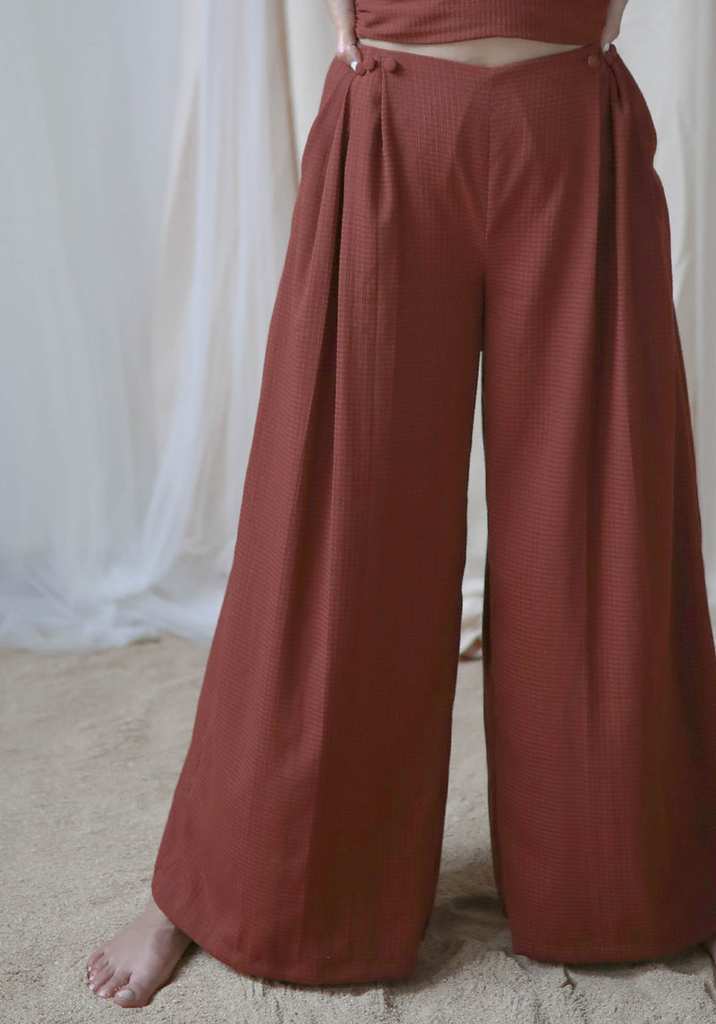 Three Pleat Pants