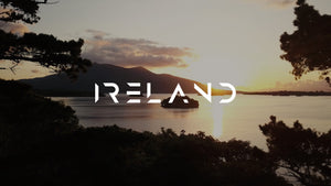 Killarney, Ireland - Sunset Through The Trees (Aerial 4K & 1080p Stock Footage)