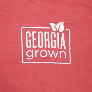 picture of Georgia grown upper left front logo