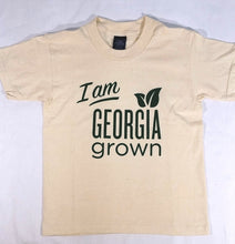 "Front view of ""I am Georgia Grown"" t-shirt"