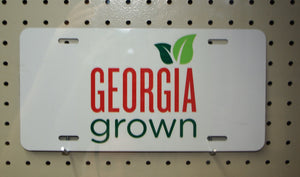 Georgia Grown License Plate