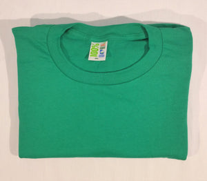 Green 100% Ga Grown t-shirt folded without logos