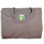 Picture of grey t-shirt made from 100% Georgia grown cotton
