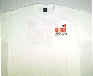 Adult T-Shirt, s/s,  not part of the 100% Georgia Grown Cotton Project, but USA made, white