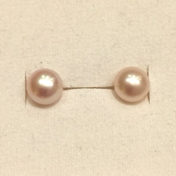 Freshwater Pearl Studs (5mm)