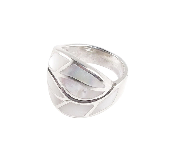Mother of Pearl Shell Ring