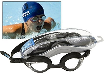 Splaqua swim Goggle with Optical Corrective Lenses by Splaqua
