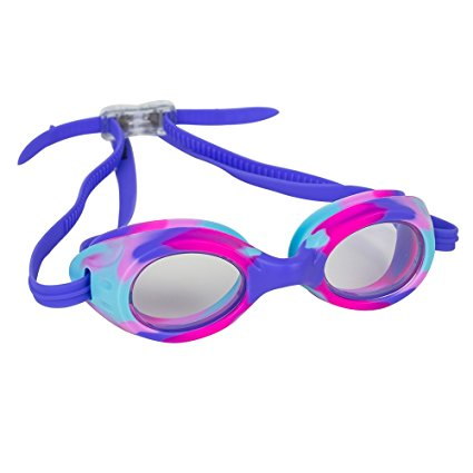 2ff275d2a1ac ... Kids Swim Goggles for Boys and Girls - Adjustable Straps