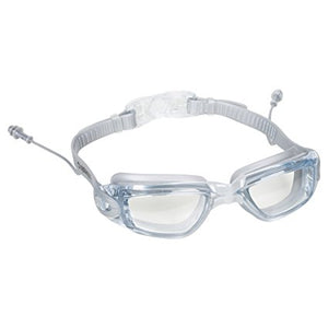 90fbaa321a8d Swim Goggles with Ear Plugs Attached for Men and Women - Adjustable Straps