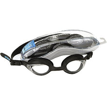 Splaqua Tinted Prescription Swimming Goggles (Black, -8)