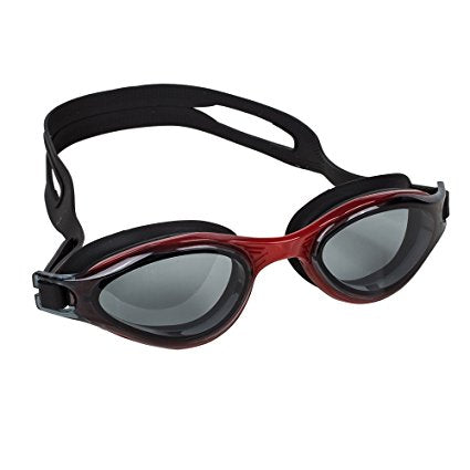 Swim Goggles for Men and Women - Adjustable Straps, Silicone Eye Seal, UV Protection and Anti Fog Lenses Swimming Goggle - by Splaqua