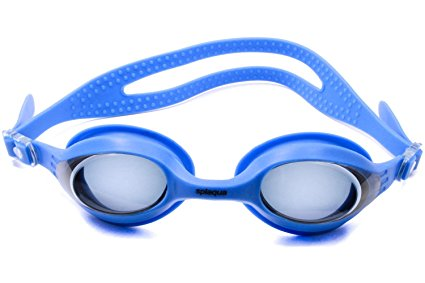 Splaqua Tinted Prescription Swimming Goggles (Blue, -9)