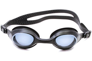 Splaqua Tinted Prescription Swimming Goggles (Black, -6.5)