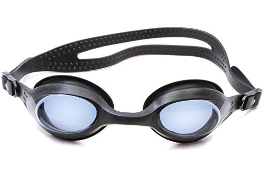 Splaqua Tinted Prescription Swimming Goggles (Black, -7)