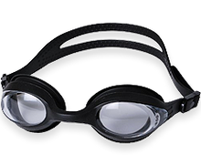 Splaqua Tinted Prescription Swimming Goggles (Black, -5)