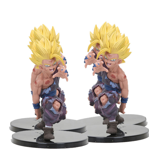 Dragon Ball Z Anime Super Saiyan and Son Goku Figures