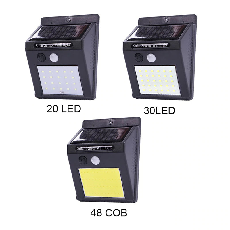 Outdoor Solar LED Wall Lamp