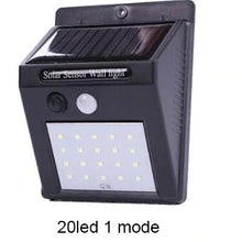 Load image into Gallery viewer, Outdoor Solar LED Wall Lamp