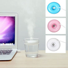 Load image into Gallery viewer, Colorful Portable Donut Shaped USB Air Humidifier