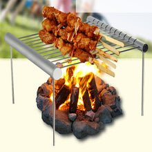 Load image into Gallery viewer, Mini Portable Folding Stainless Steel BBQ Grill