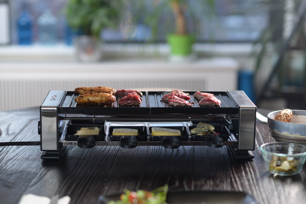 Party Grill The Official Raclete Grill For Indoor Grilling