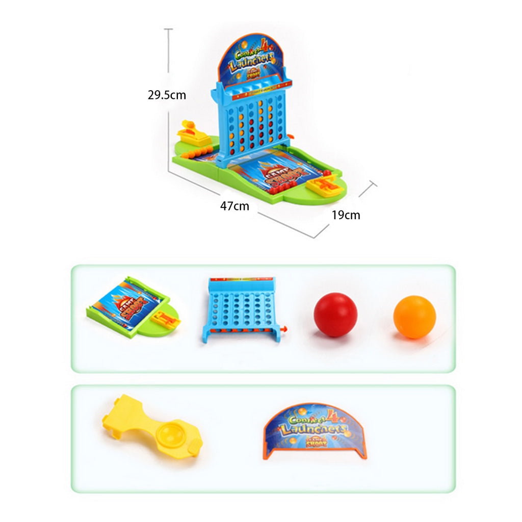 Double Connect 4 Hoodle Finger Basketball Shooting Game