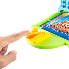 Load image into Gallery viewer, Double Connect 4 Hoodle Finger Basketball Shooting Game
