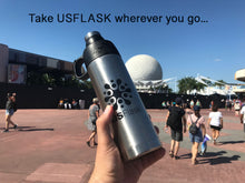Load image into Gallery viewer, USFlask Water Bottle Double Wall Insulated Vacuum Flask