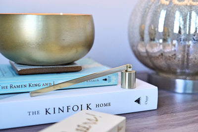 Brushed Gold Candle Snuffer - Finley's Boutique